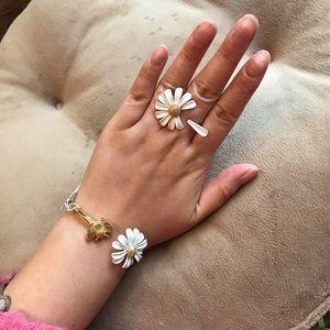 Kate Spade Flower & Bee Bracelet